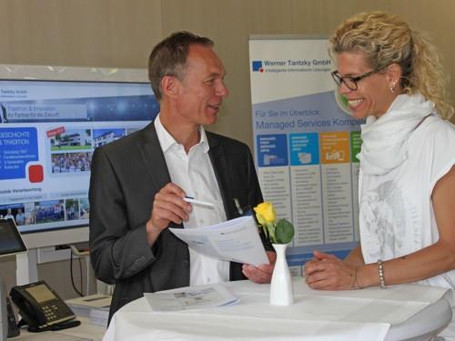 Tantzky bei der Hausmesse der Netplans GmbH