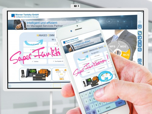 Testen Sie die RICOH Interactive Whiteboard-Serie bei uns.